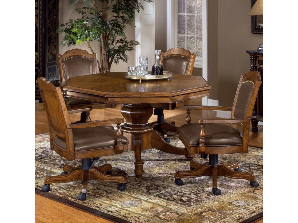 Hillsdale Nassau5 Piece Game Table Set