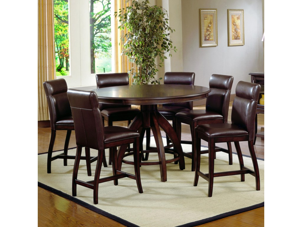 Shown with Expressive Counter Height Upholstered Charis
