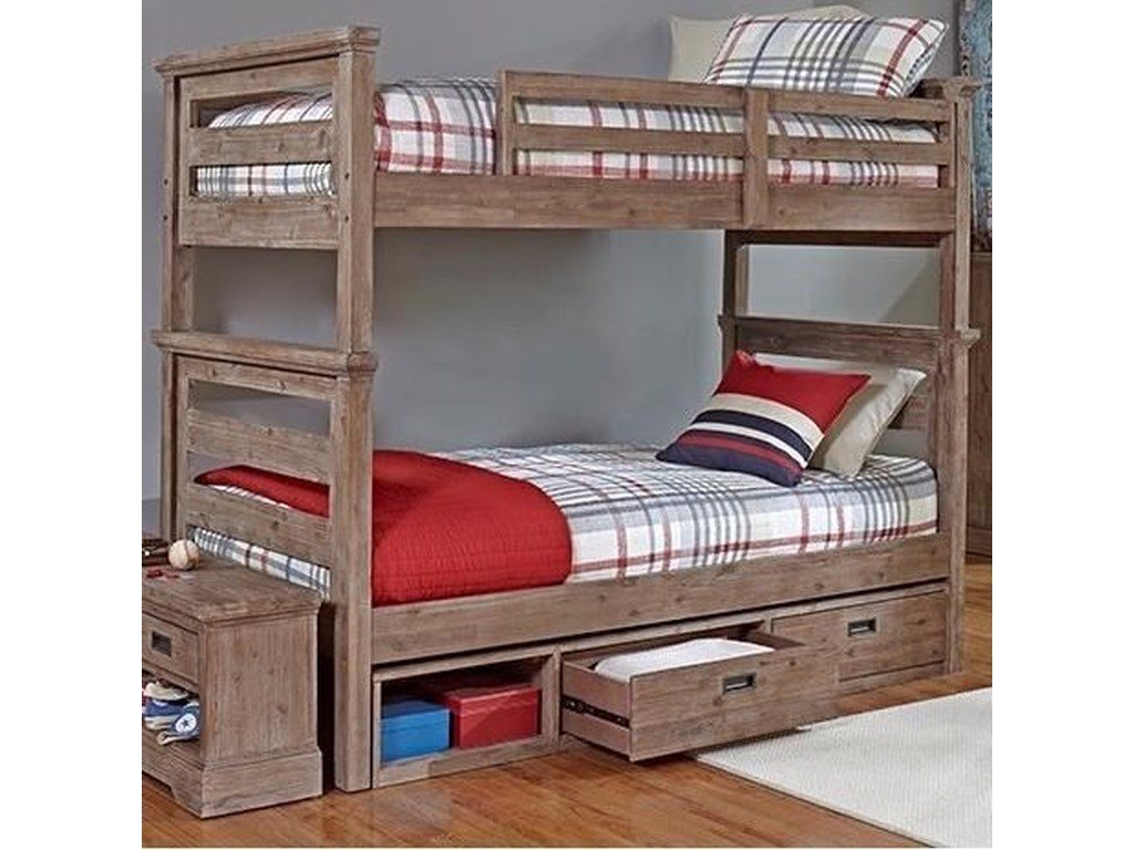 Hillsdale OxfordTwin Over Twin Bunk