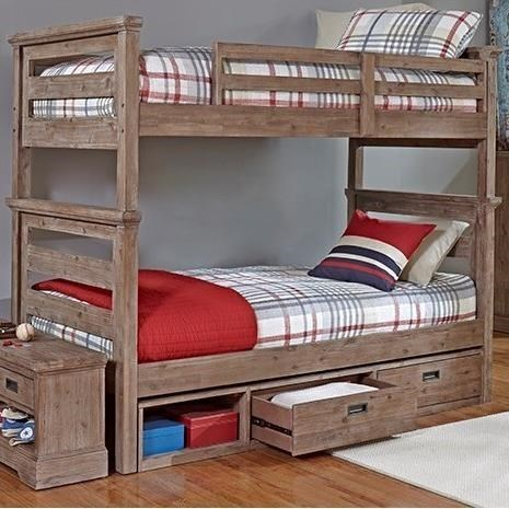 Hillsdale Oxford Transitional Twin Over Twin Bunk Godby Home