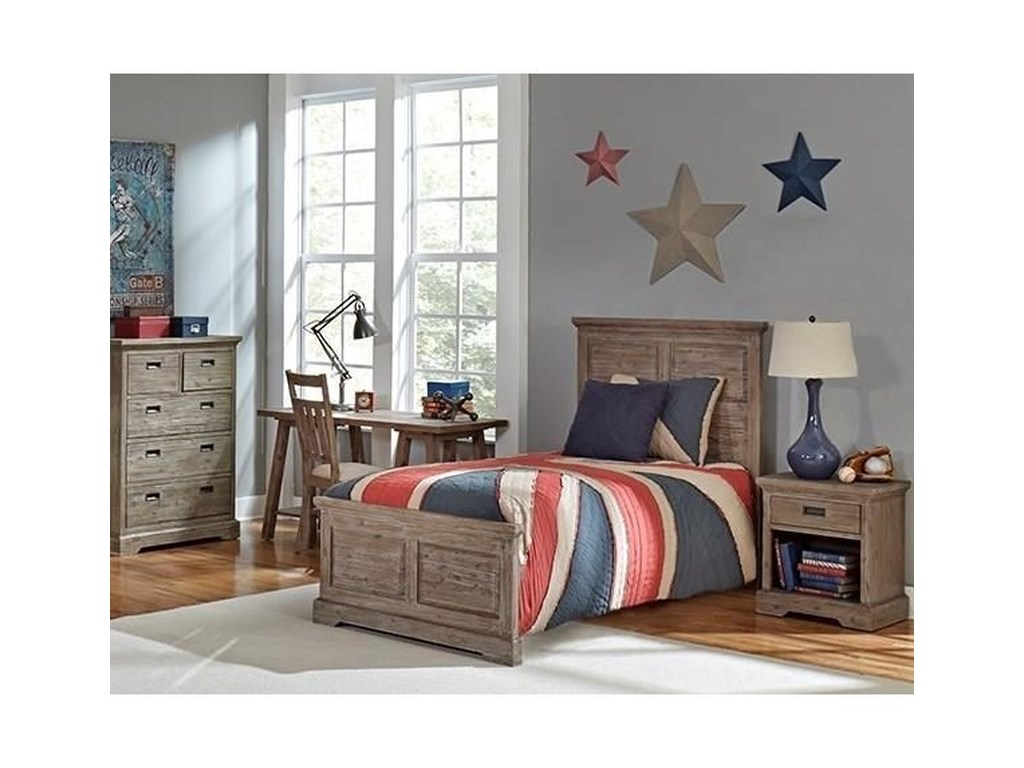 Hillsdale OxfordTwin Panel Bed