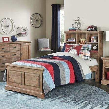 Hillsdale Oxford 7104 470n Full Bed With Bookcase Headboard