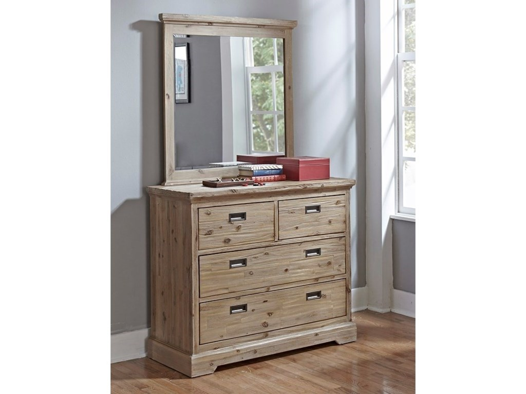 Hillsdale OxfordDresser and Mirror Set