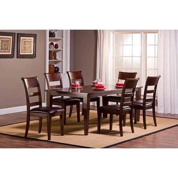 Hillsdale Park Avenue Seven Piece Dining Set With Leg Table