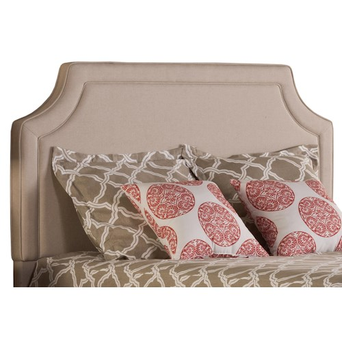 Hillsdale Parker Elegant Upholstered King Headboard and Frame