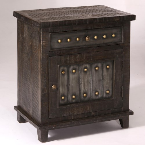 Hillsdale Pavia Sophisticated Cabinet with Storage Drawer and Door