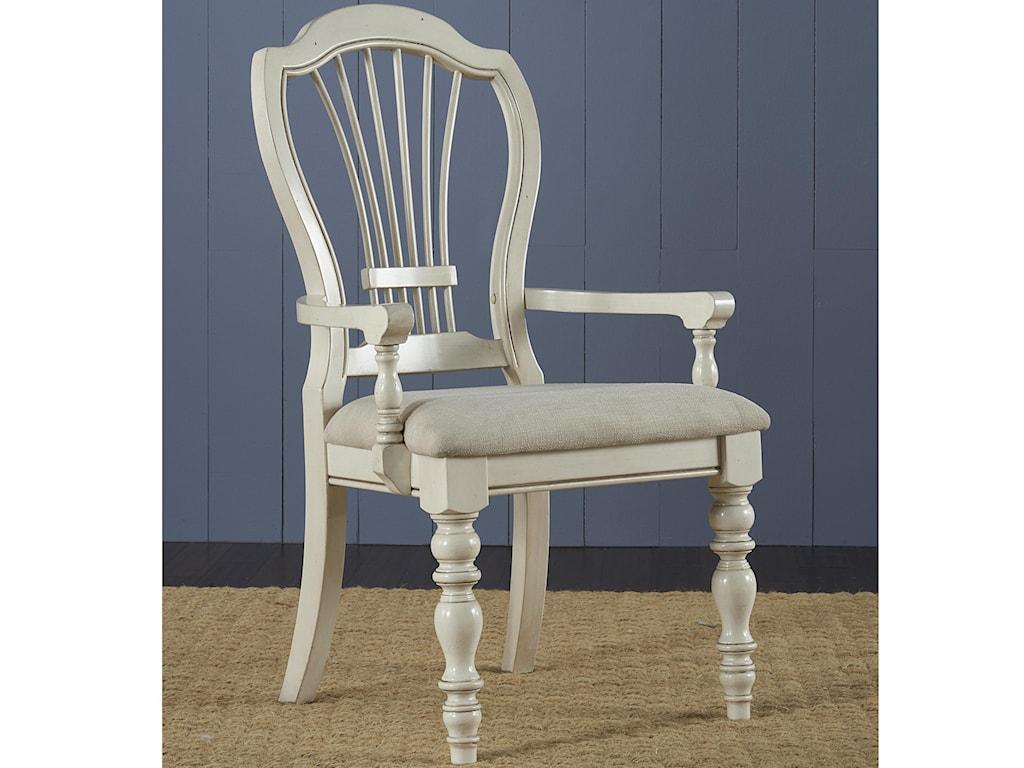 Hillsdale Pine IslandDining Arm Chair
