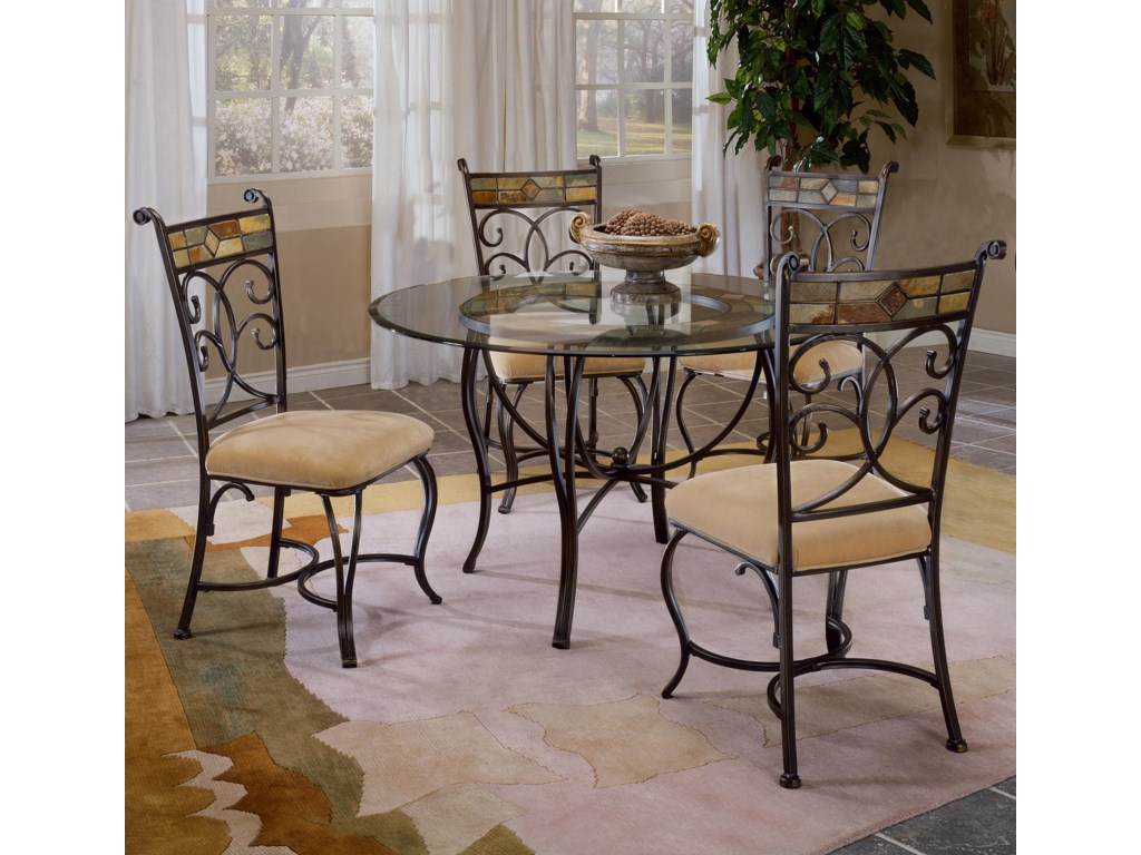 Shown with Slate Accented Dining Side Chairs
