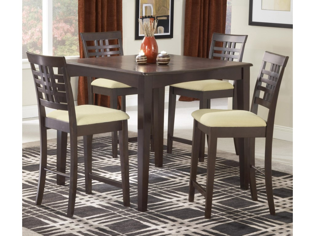 Shown with Non-Swivel Counter Stools