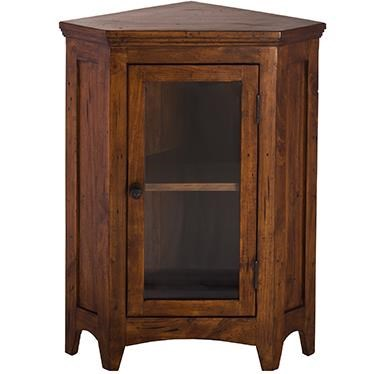 Hillsdale Tuscan Retreat Corner Cabinet With 1 Door And 1