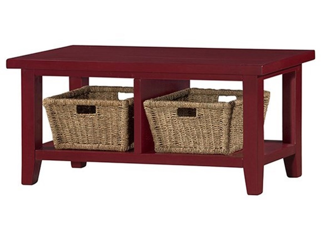 Hilale Tuscan Retreatblanket Bench With Baskets