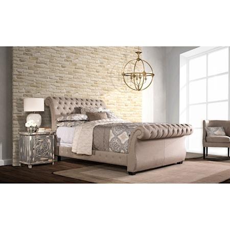 Queen Bombay Bed