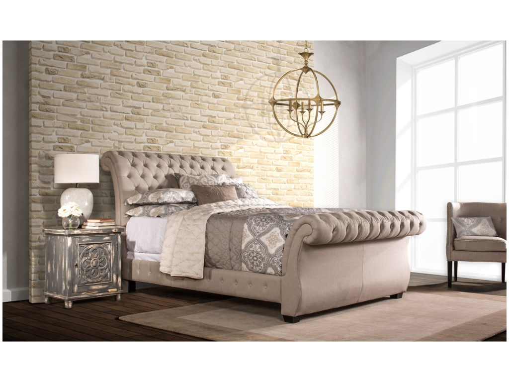 Hillsdale Upholstered BedsQueen Bombay Bed