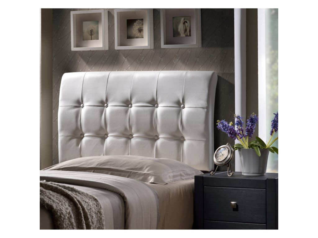 Hillsdale Upholstered BedsLusso Queen Headboard with Rails