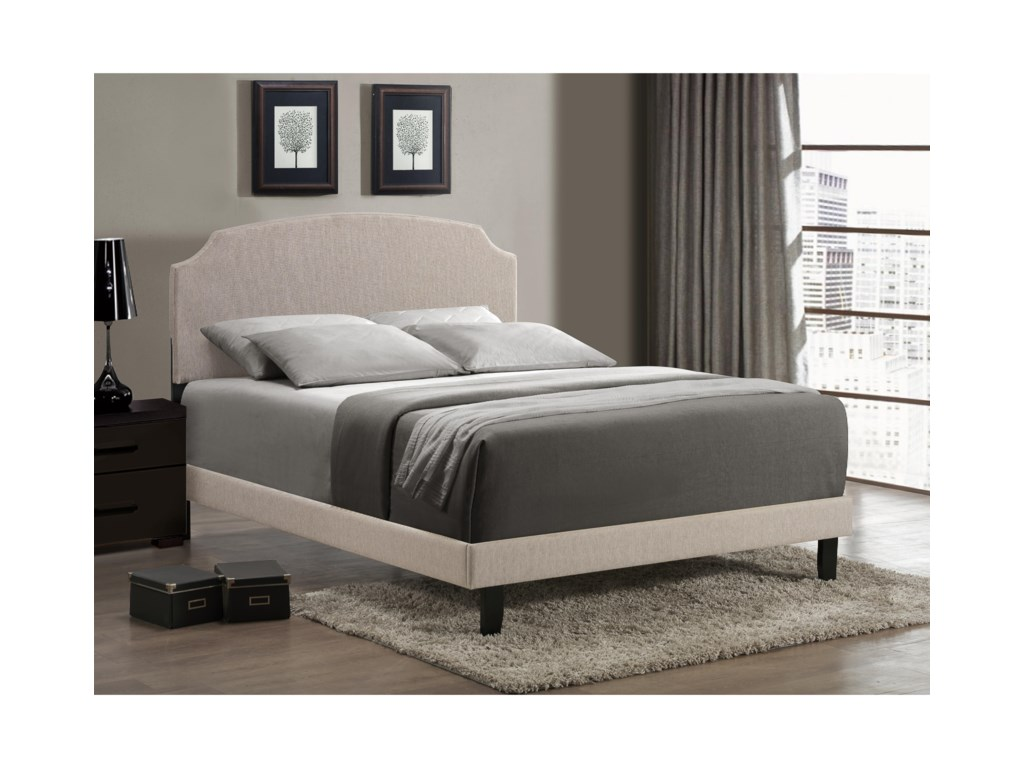Hillsdale Upholstered BedsLawler Queen Bed