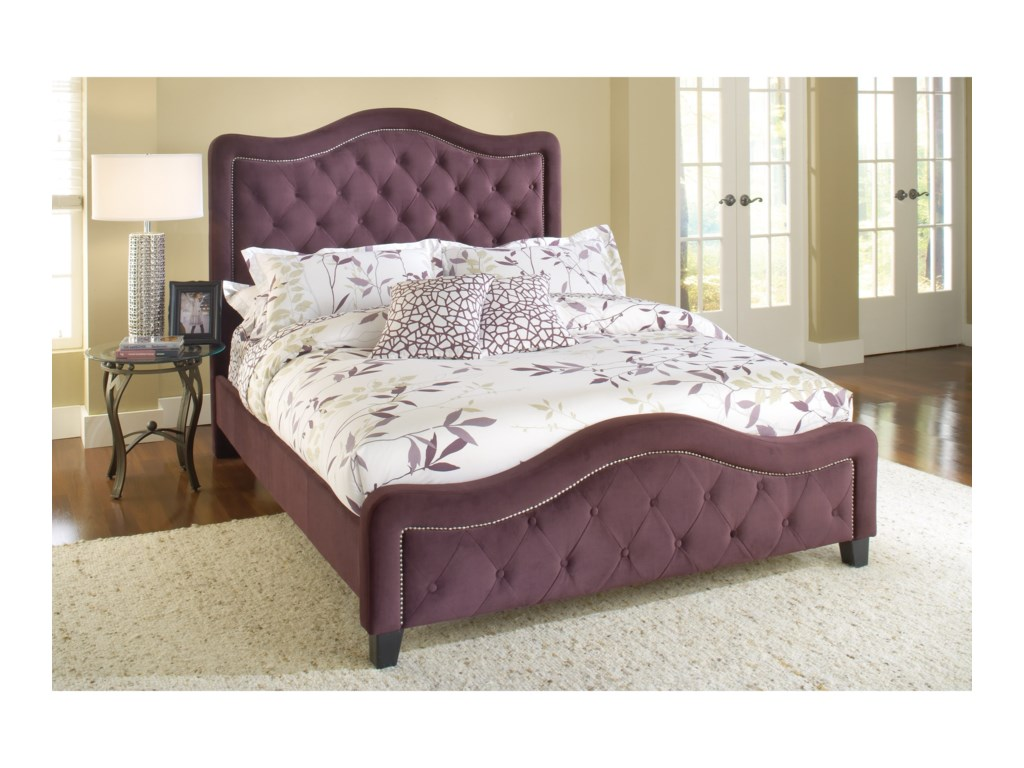 Hillsdale Upholstered BedsKing Trieste Fabric Bed