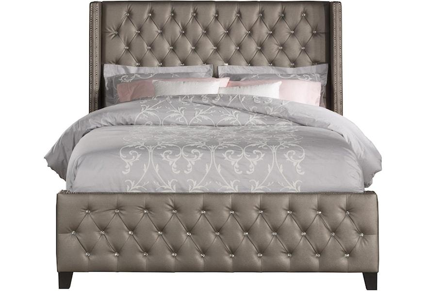 Upholstered Beds 1886bkr King Queen Bed