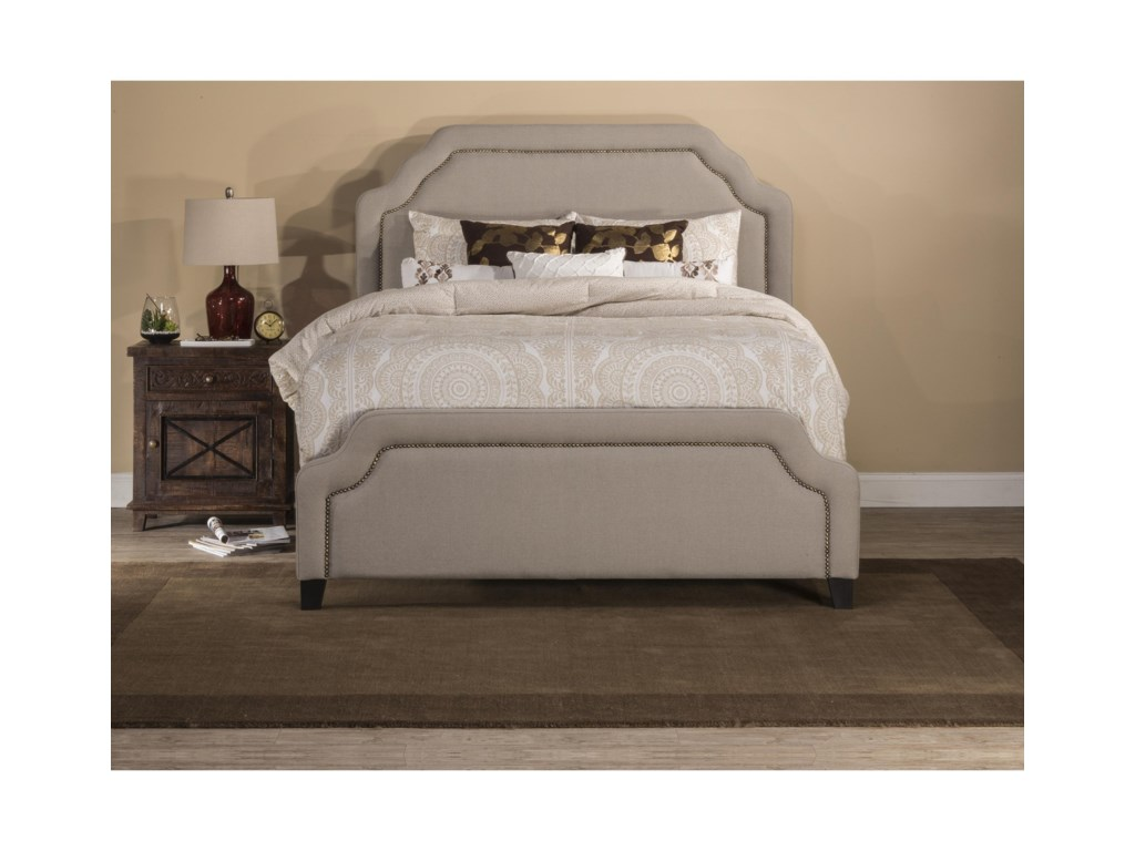 Hillsdale Upholstered BedsQueen Carlyle Fabric Bed