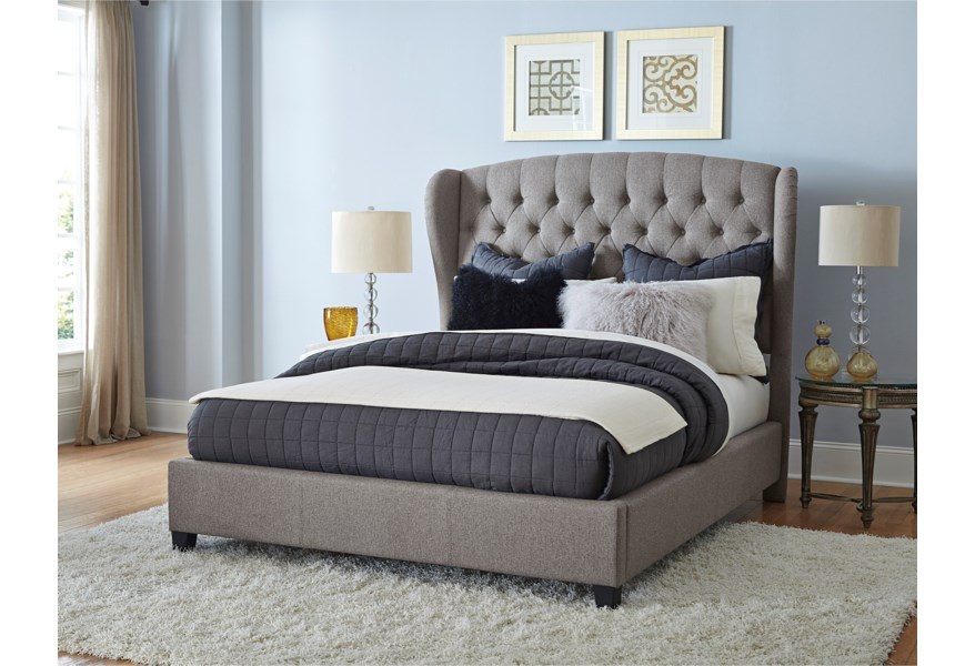 Hillsdale Upholstered Beds 1943qbr Upholstered Queen Bed Set With