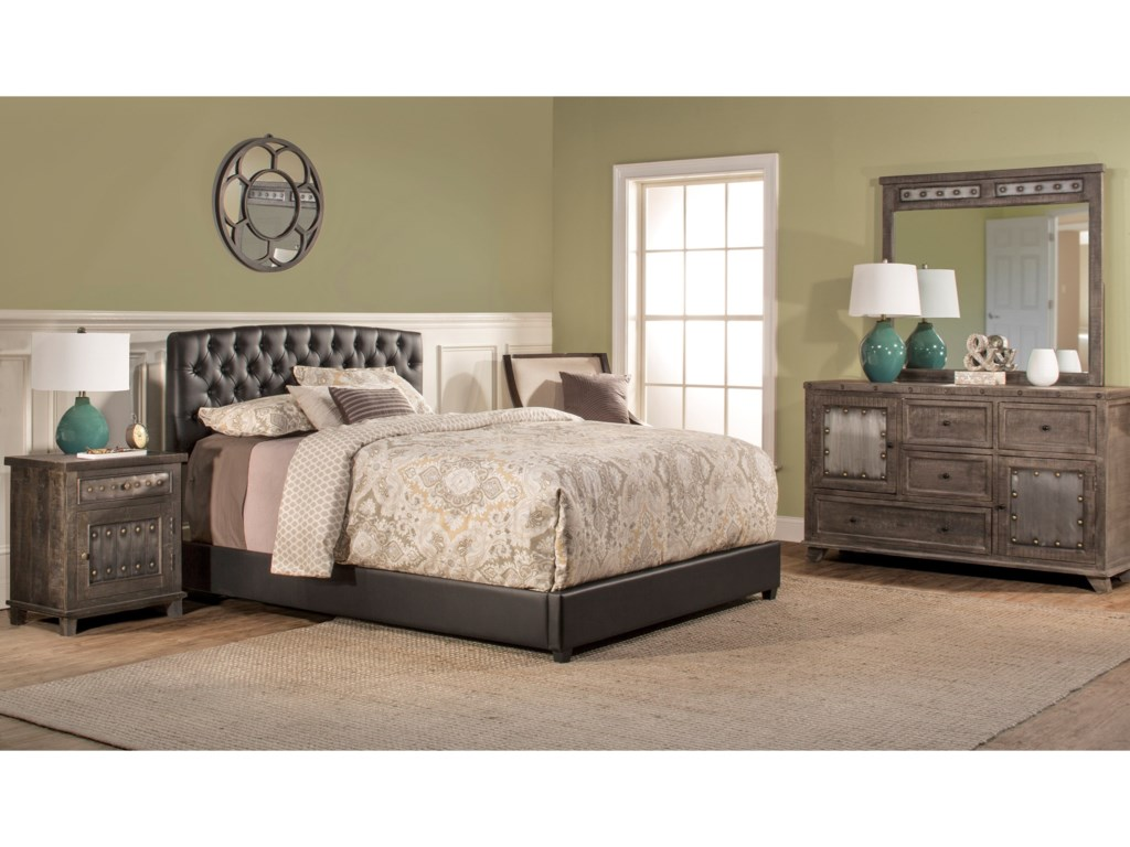 Hillsdale Upholstered BedsQueen Bed Set