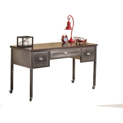 Hillsdale Urban Quarters Metallic Urban Quarters Desk