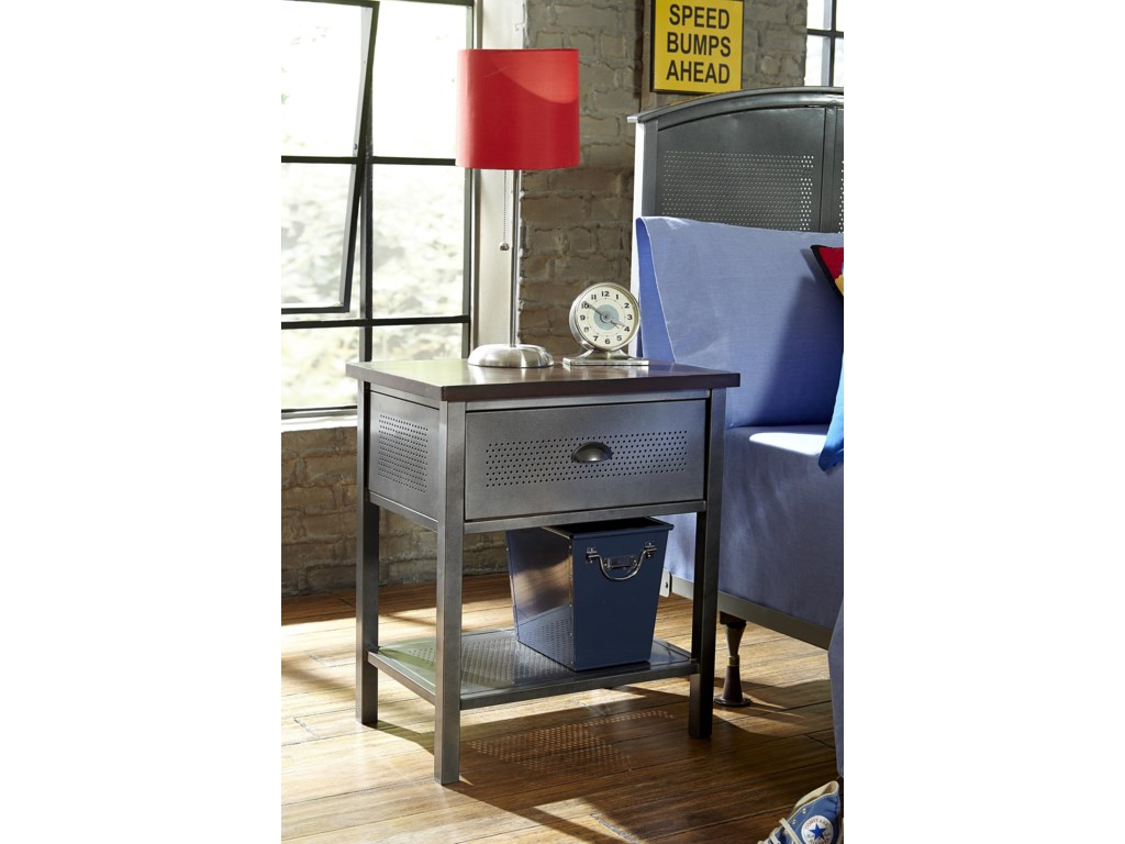Hillsdale Urban QuartersFive Piece Full Storage Bed Set
