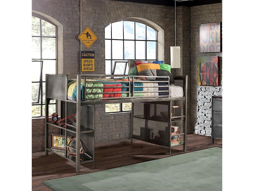 Hillsdale Urban QuartersTwin Lofted Bed