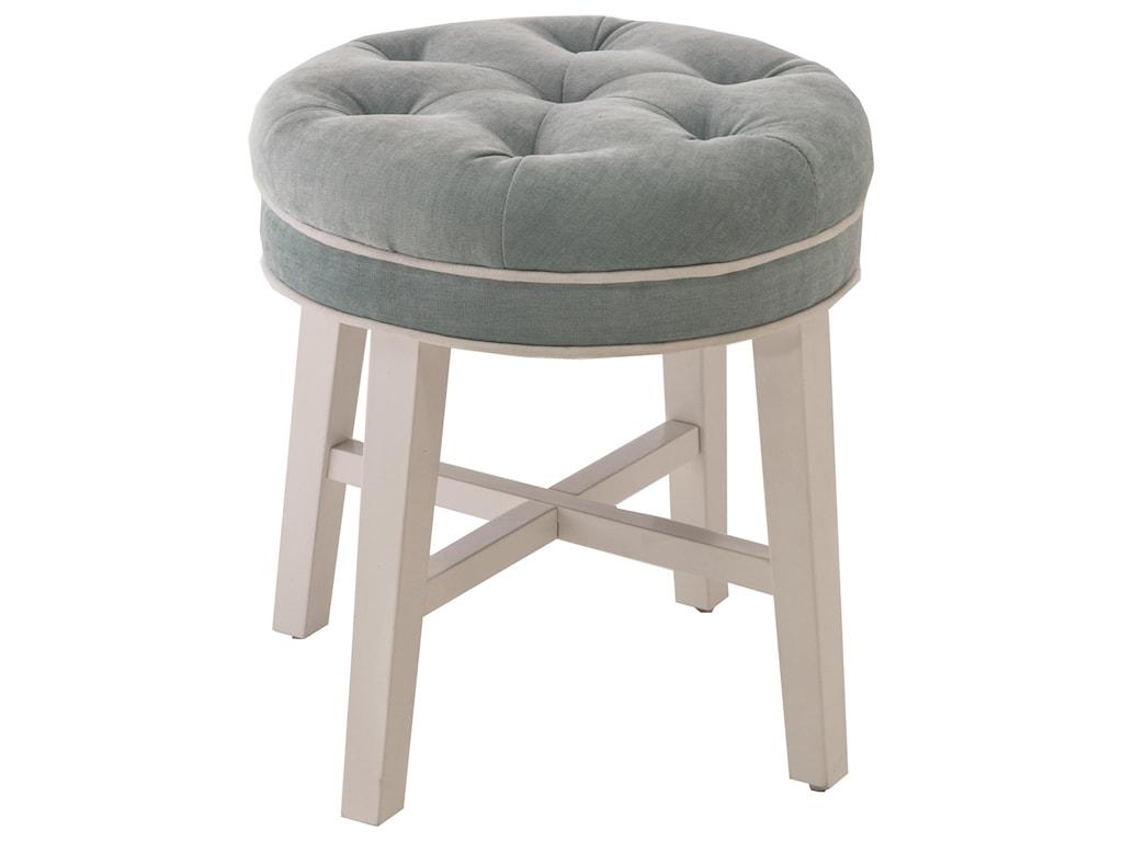 Hillsdale Vanity StoolsSophia Vanity Stool with Fabric Seat