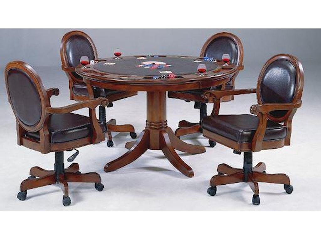 Hillsdale WarringtonCaster Game Chair