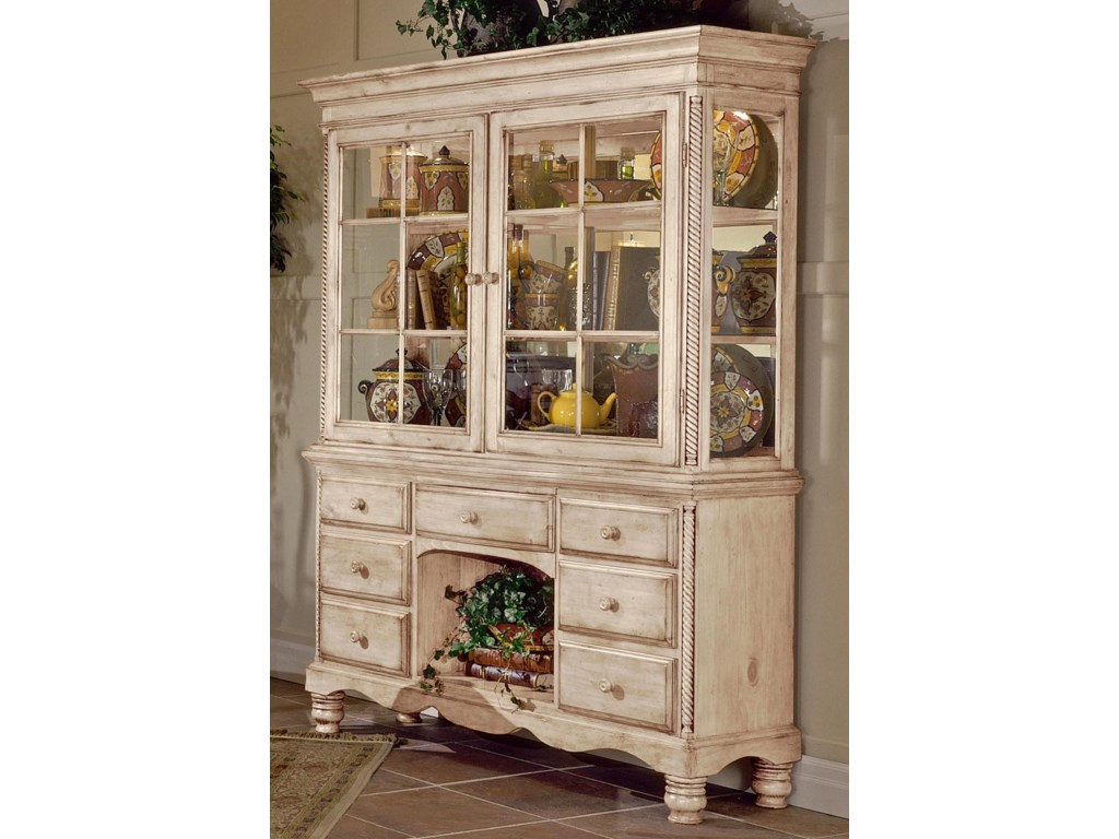 Shown with Grand Cottage Hutch for Buffet