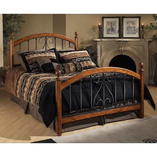 Wood beds full burton way bed rotmans headboard for R way bedroom furniture