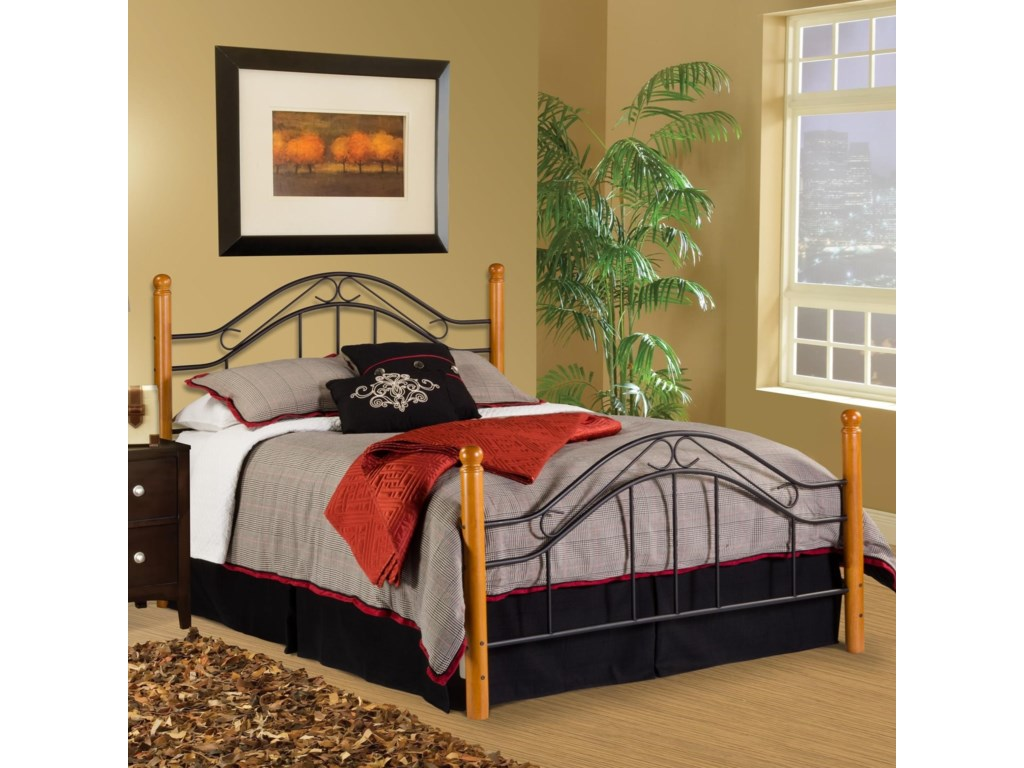 Hillsdale Wood Beds Queen Bed Set Rails Not Included Conlin S