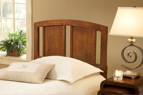Hillsdale Wood Beds Stephanie Full/ Queen Arched Headboard with Rails