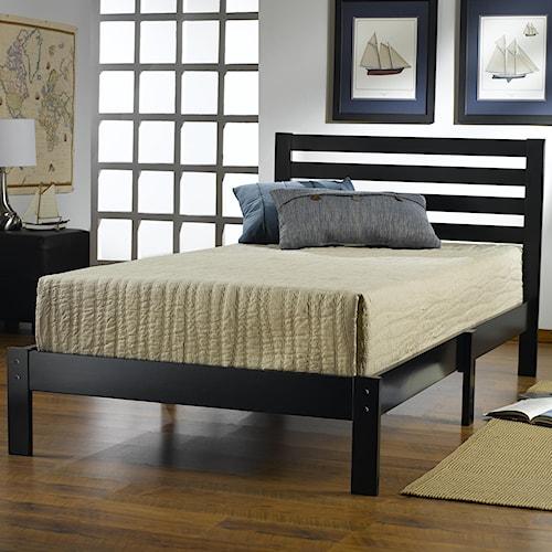 Hillsdale Wood Beds Twin Platform Bed Set