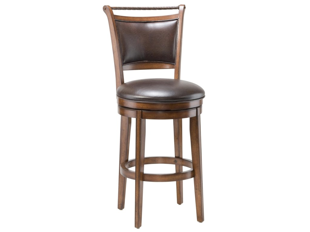 Hilale Wood Stools 26 Counter Height Calais Swivel Stool