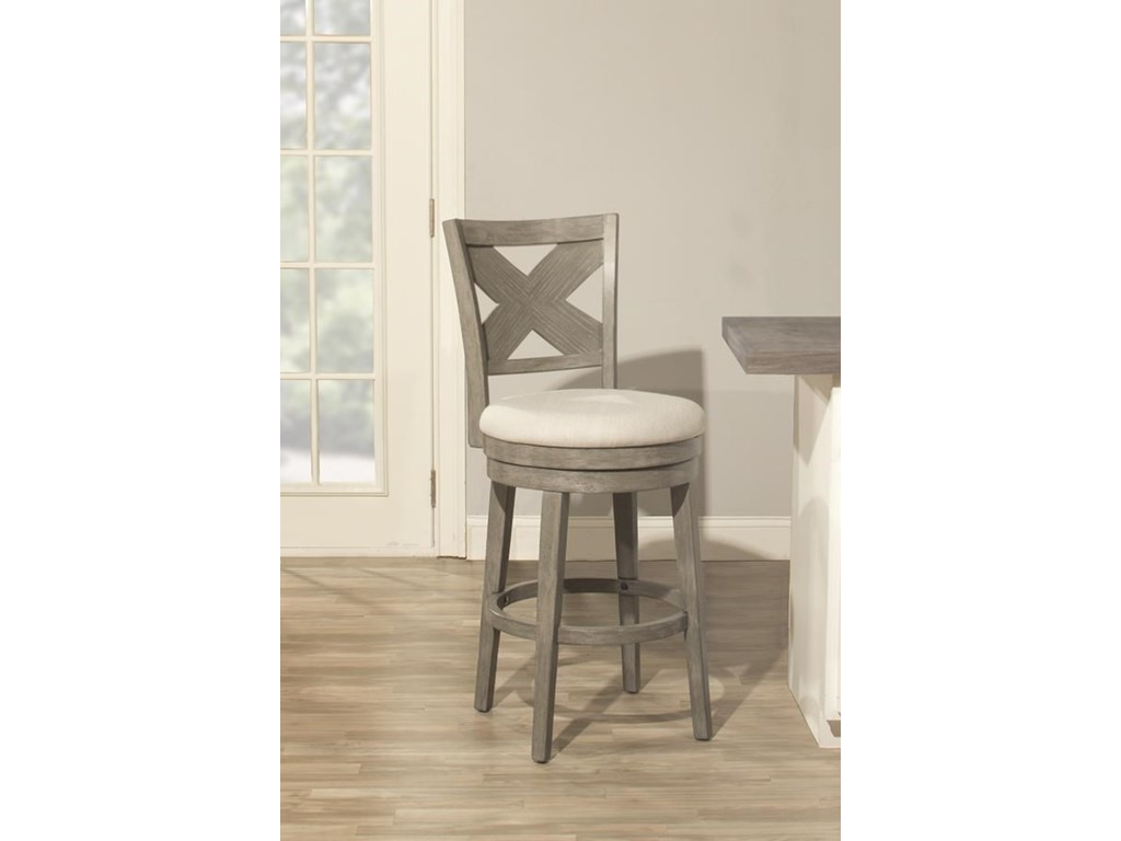Hillsdale Wood StoolsSunhill Gray 24
