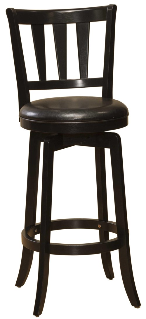 Hillsdale Wood Stools 30 Quot Bar Height Presque Isle Swivel