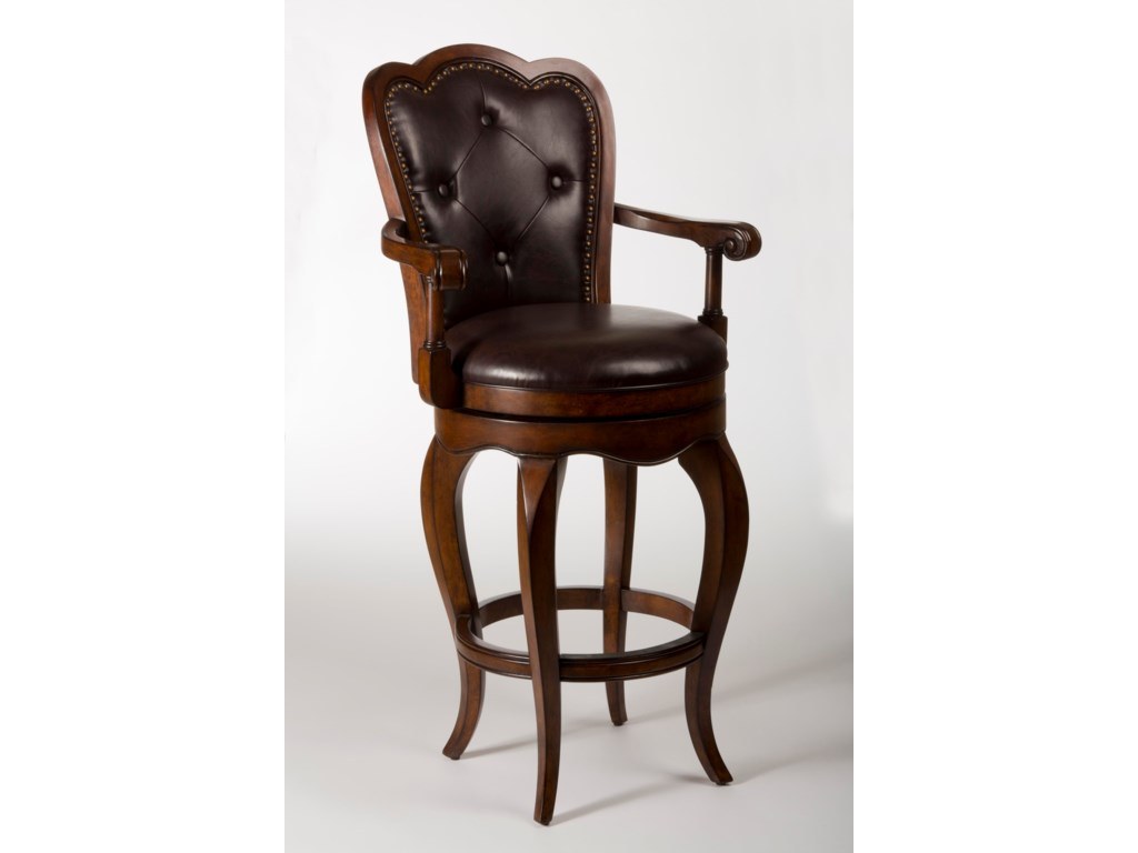 Hillsdale Wood StoolsEastwind Swivel Bar Stool