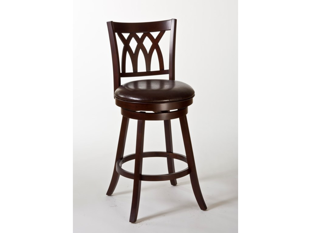 Hillsdale Wood StoolsTateswood Swivel Counter Stool