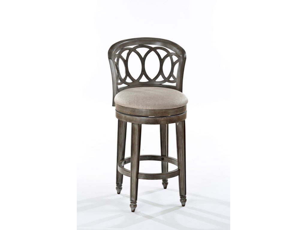Hillsdale Wood StoolsAdelyn Swivel Bar Stool