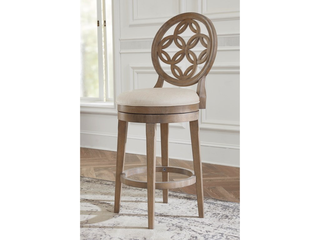 Hillsdale Wood StoolsSwivel Counter Height Stool