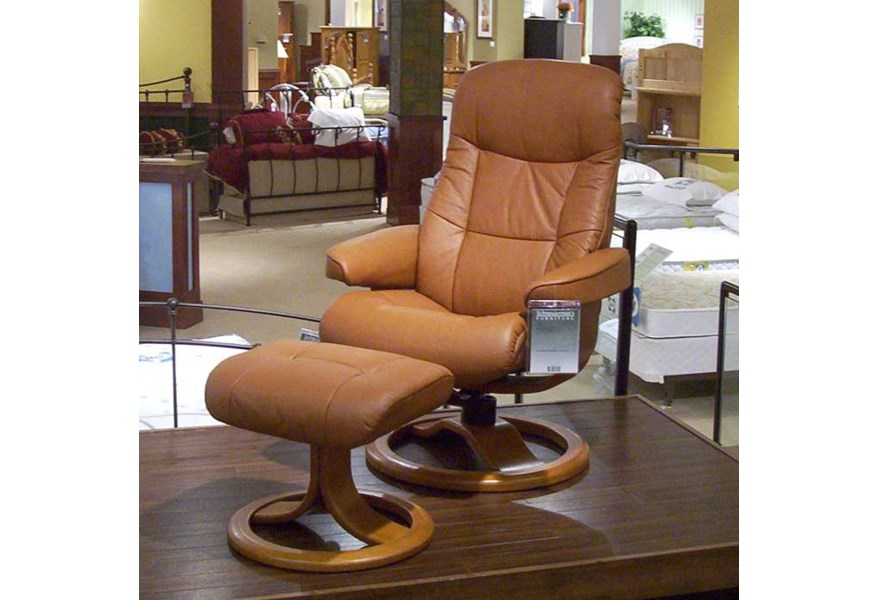 Remarkable Hjellegjerde Scansit Reclining Chair Ottoman Wilsons Ocoug Best Dining Table And Chair Ideas Images Ocougorg