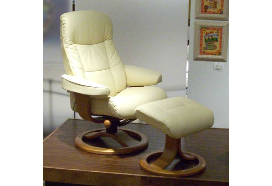 Terrific Hjellegjerde Scansit Reclining Chair Ottoman Wilsons Ocoug Best Dining Table And Chair Ideas Images Ocougorg