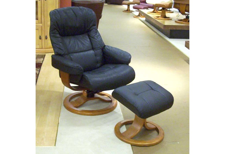 Phenomenal Hjellegjerde Scansit Reclining Chair Ottoman Wilsons Ocoug Best Dining Table And Chair Ideas Images Ocougorg