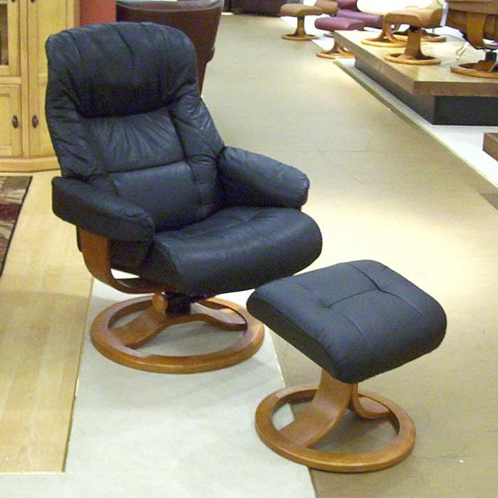Hjellegjerde ScansitReclining Chair U0026 Ottoman ...