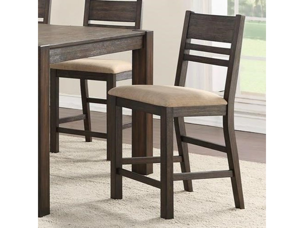 Holland House 1106Thin Ladder Back Counter Stool