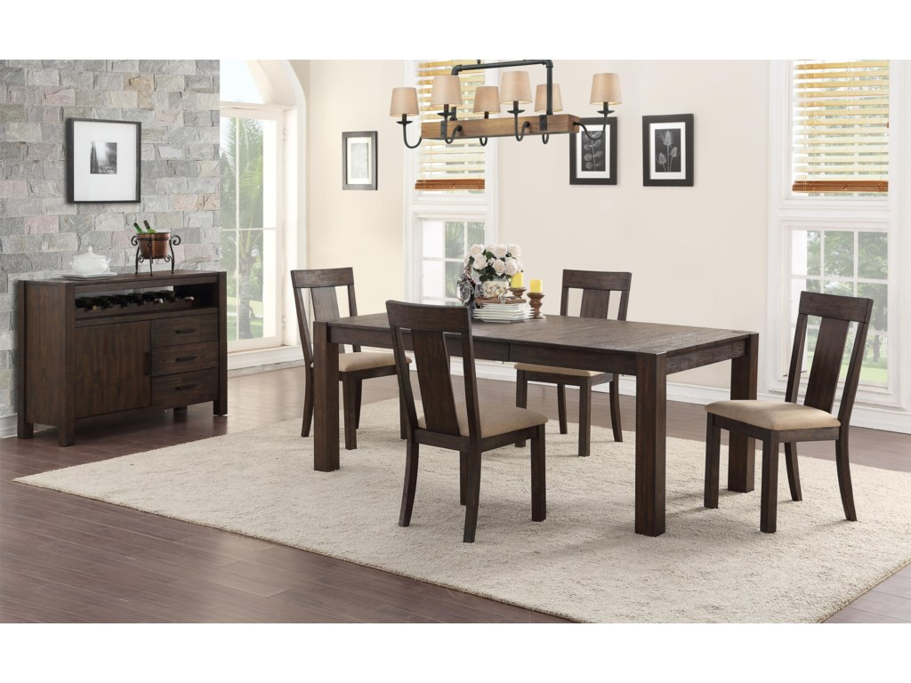 Hathaway TylerTable + 4 Chairs