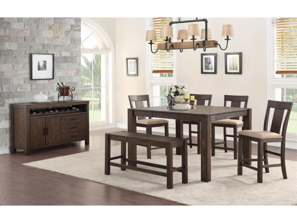 Hathaway Tyler6 Pc. Dining Set
