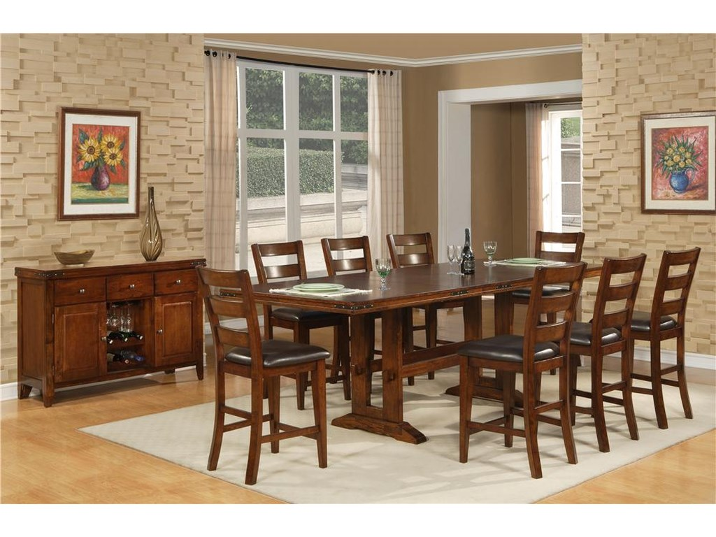 Hathaway LaytonLayton 9 Pc. Dining Set