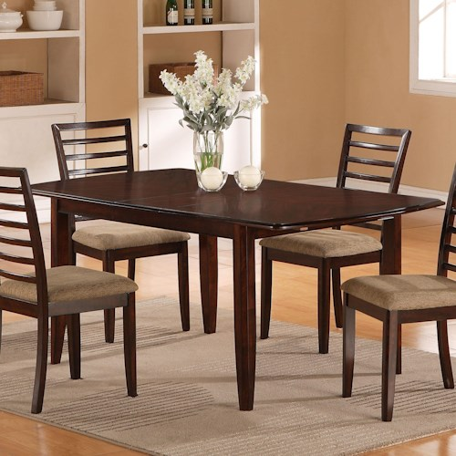 Holland House 1237 Dining Butterfly Leaf Dining Table